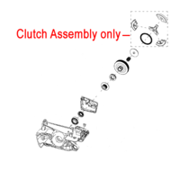 Image of Mitox Chainsaw Clutch Assembly MIYD45.01.13.01-00