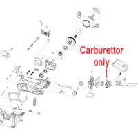 Image of Mitox Chainsaw Carburettor MIYD45.01.06-00EU2