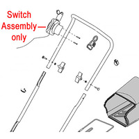 AL-KO Aerator Scarifier Switch Assembly 463034