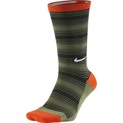 Nike Golf Socks Elite Graphic Stripe Crew Palm Green SS17