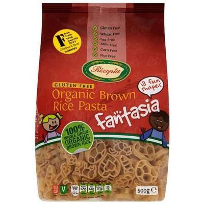 Rizopia Organic Brown Rice Fantasia Pasta 500g