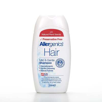 Allergenics Gentle Medicated Hair Shampoo 200ml