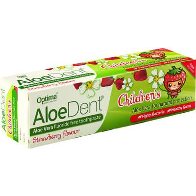 AloeDent Childrens Strawberry Toothpaste 50ml