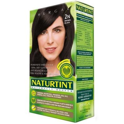 Naturtint Permanent Natural Hair Colour 2N Brown Black 170ml