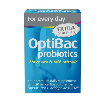 Optibac Probiotic for Every Day Extra Strength 30 Capsules