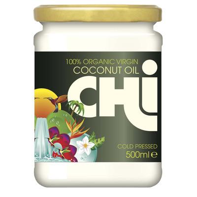 Chi 100% Organic Virgin Cold Pressed Coconut Oil 500ml
