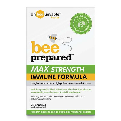 UnBEElievable Health Max Strength Immune Support 20 Capsules