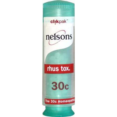 Nelsons Rhus Tox 30c 84 Pills