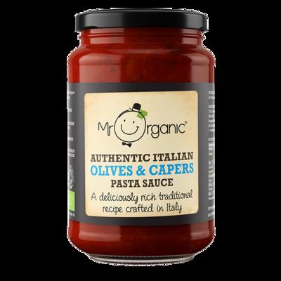 Mr Organic Puttanesca Sauce 350g