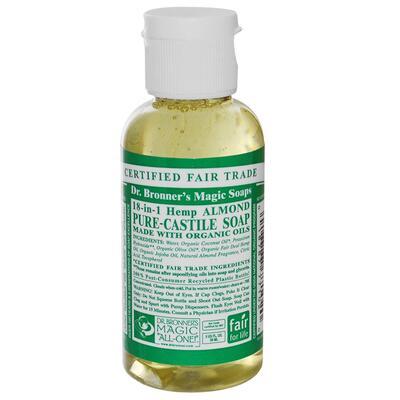 Dr Bronner's Organic Almond Castile Liquid Soap 59ml