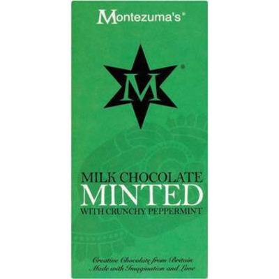 Montezumas Milk Chocolate Minted Bar 100g