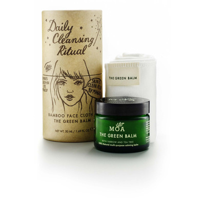 MOA Green Balm Daily Cleansing Ritual