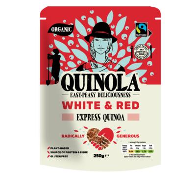 Quinola Mothergrain Express Pearl & Red Quinoa 250g