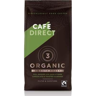 Cafedirect Organic Medium Roast Ground Coffee 227g