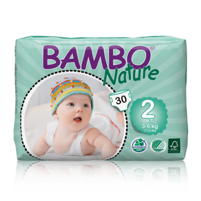 Bambo Nature Mini Nappies - Size 2