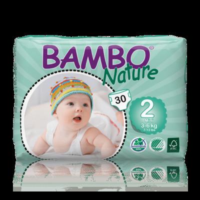 Bambo Nature Mini Nappies - Size 2