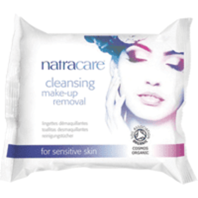 Natracare Cleansing Make-Up Removal Wipes