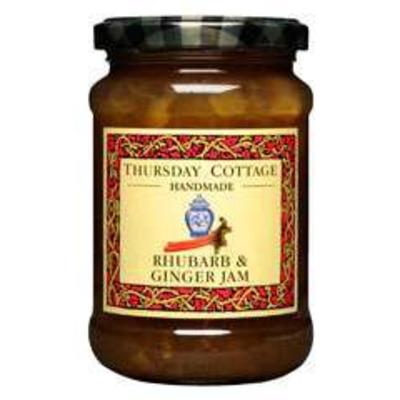 Thursday Cottage Rhubarb & Ginger Jam 340g