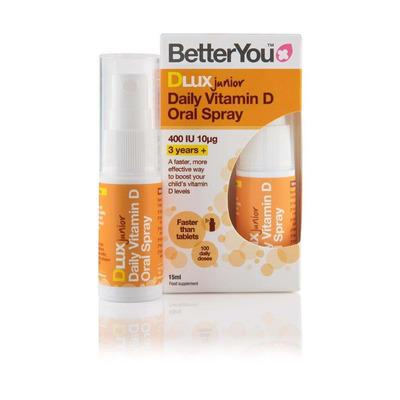 BetterYou DLux Junior Vitamin D Oral Spray 15ml