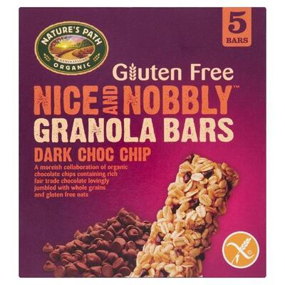 Nature's Path Nice & Nobbly Dark Chocolate Chip Granola Bars