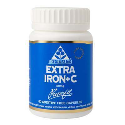 Bio Health Extra Iron 60 Capsules