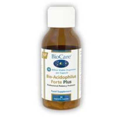 BioCare Bio-Acidophilus Forte Plus Probiotic 30 Capsules