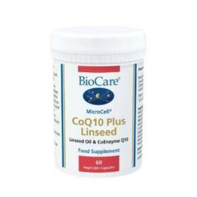 BioCare MicroCell CoQ10 Plus Linseed 60 Capsules