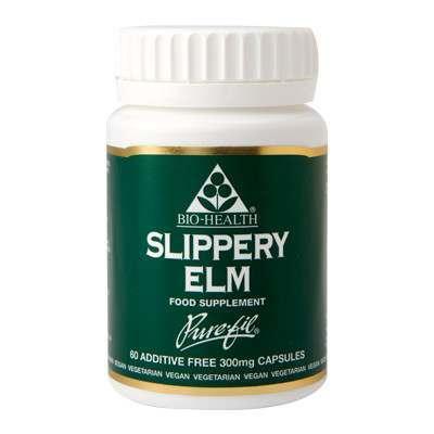 Bio Health Slippery Elm 60 Capsules