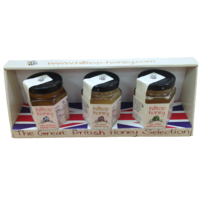 Hilltop Honey Great British Honey Selection 3 x 110g