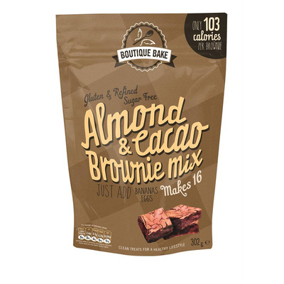 Boutique Bake Almond & Cacao Brownie Mix 302g