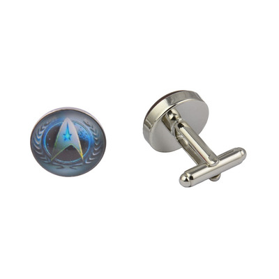 Star Trek Blue Cufflinks