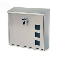 Stainless steel Aire mailbox
