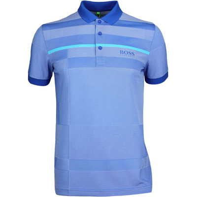 Hugo Boss Golf Shirt Paddy Pro 2 Victoria Blue PF17