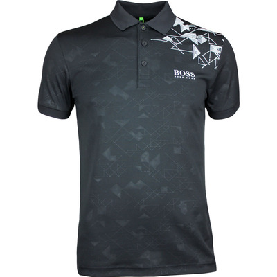 Hugo Boss Golf Shirt Paule Pro 1 Black PF17