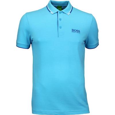 Hugo Boss Golf Shirt Paddy Pro Blue Atoll PF17