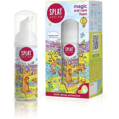 Splat Magic Oral Care Foam with Calcium for Children 50ml