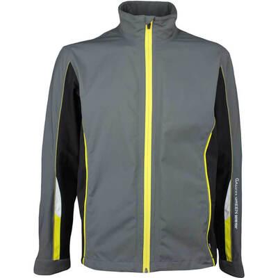 Galvin Green Waterproof Golf Jacket AVERY Paclite Iron Grey AW17