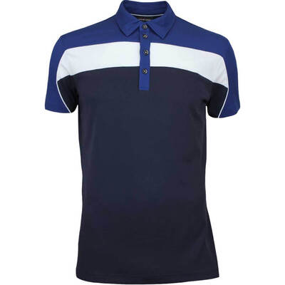 Galvin Green Golf Shirt MANNY Ventil8 Navy AW17