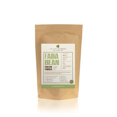 Natural Nutrients Faba Bean Protein Powder Unflavoured 40g
