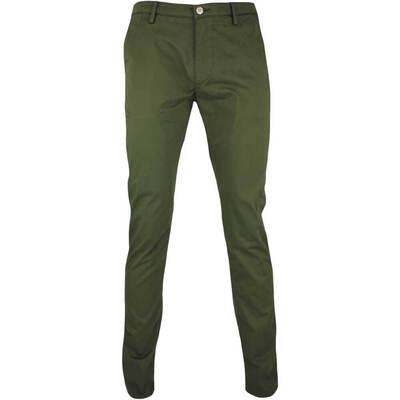 Hugo Boss Golf Trousers C Rice 7 D Chino Olive Green FA17