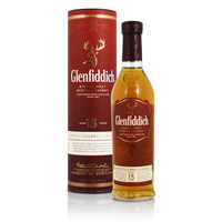 Glenfiddich 15 Year Old Whisky - 20cl
