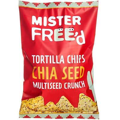 Mister Free'D Tortilla Chips with Chia Seeds 135g