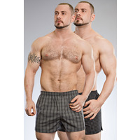 Jockey The North Woods 100% Cotton 2pk Woven Boxer