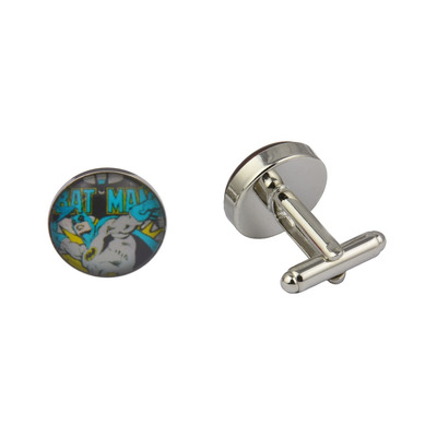 Superhero Batman Colourful Cufflinks