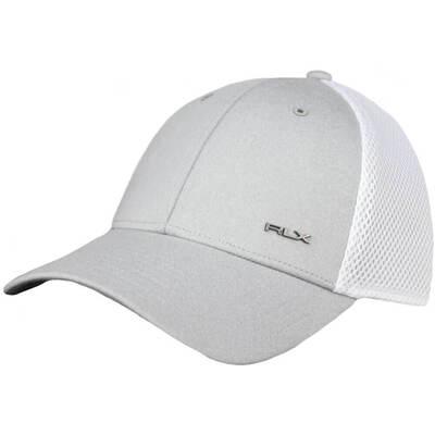 RLX Golf Cap Flex Fit Taylor Heather White SS18