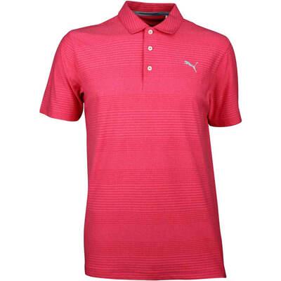 Puma Golf Shirt Aston Paradise Pink SS18