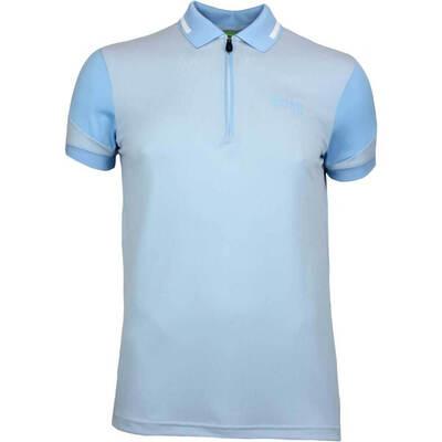 Hugo Boss Golf Shirt Prek Pro Alaskan Blue SP18