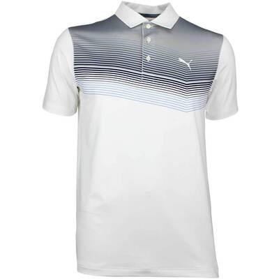 Puma Golf Shirt Road Map Peacoat SS18