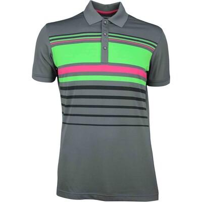 Galvin Green Golf Shirt MAYER Iron Grey SS18