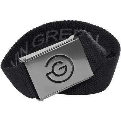 Galvin Green Golf Belt WADE Reversible Web Black Iron Grey SS18